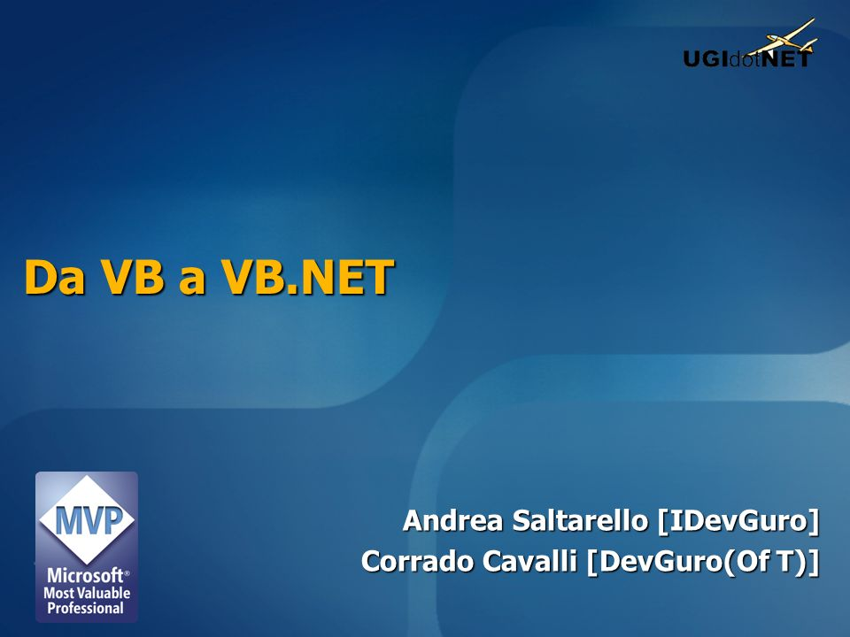 Andrea Saltarello [IDevGuro] Corrado Cavalli [DevGuro(Of T)]